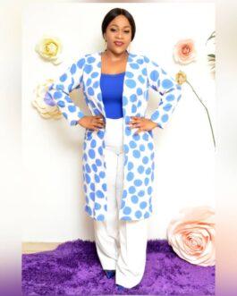 Poka Dot Kimono 2 Piece Trouser