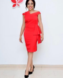 Corporate Assymetric side pleats with style