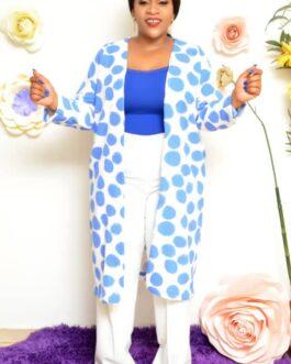 Poka dot Kimono 2 pieces trouser